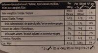Gelateria Chocolate Brownie Ice Cream - Valori nutrizionali - fr