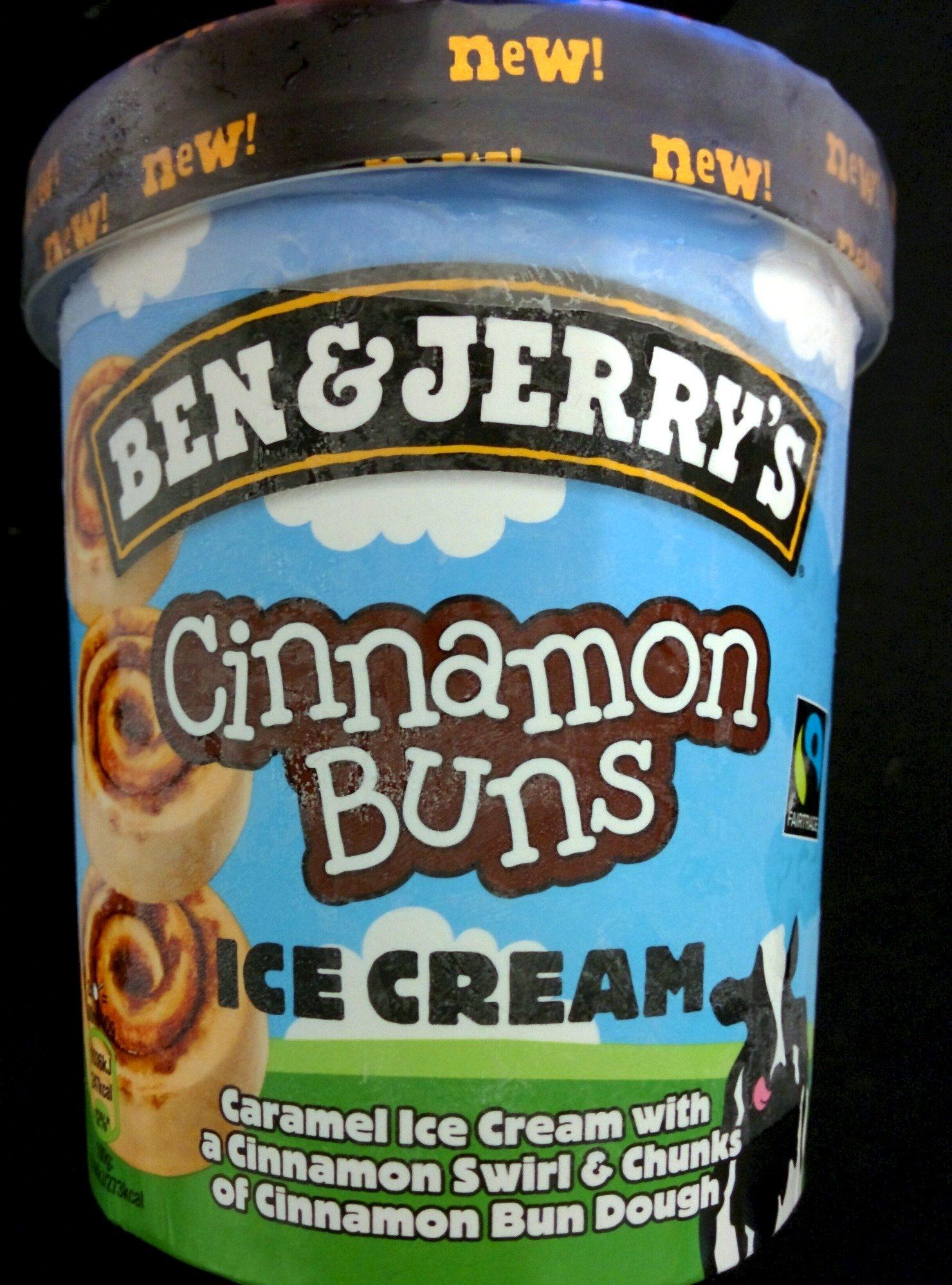 Ben & Jerry's Glace Pot Cinnamon Buns Caramel - Produkt - de