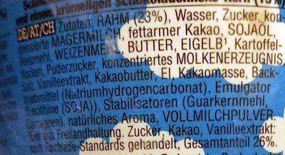 What-a-lotta chocolate cookie core - Zutaten - de