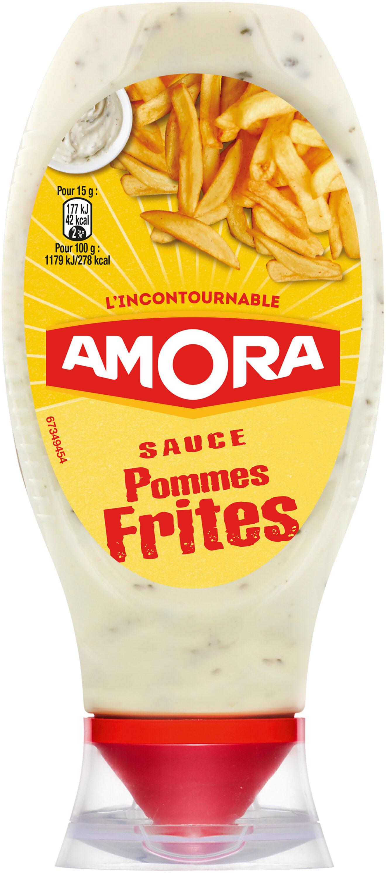 Amora Sauce Pommes Frites Flacon Souple 448g - Produit - fr
