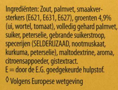 Groentebouillon - Ingrediënten - nl