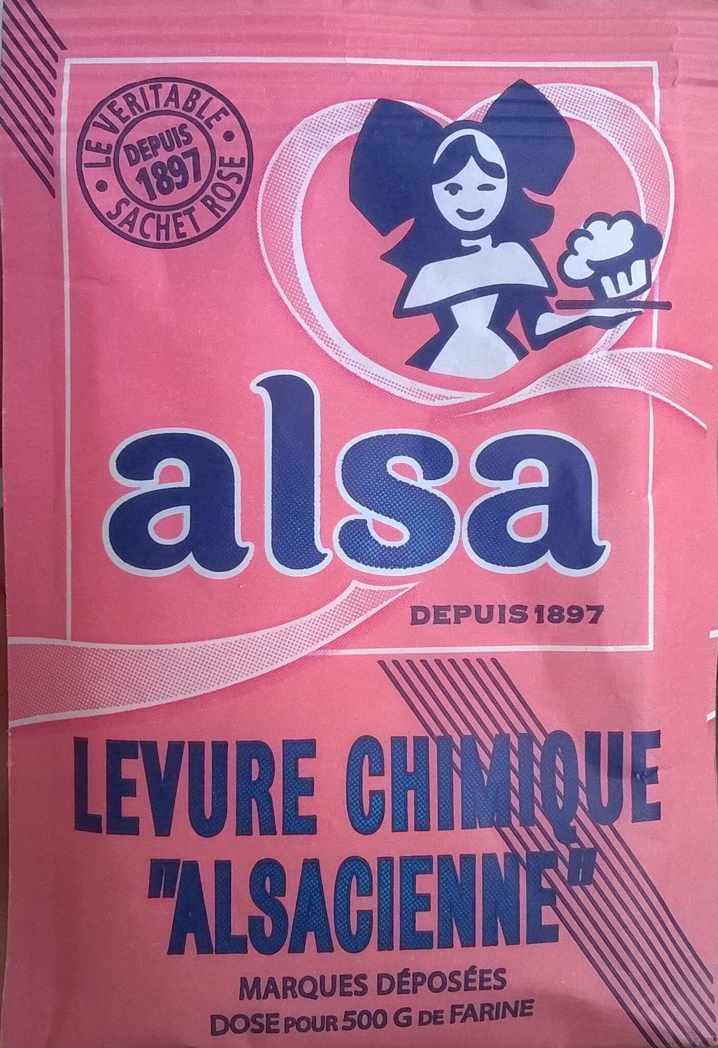 Levure chimique alsacienne - Product - fr