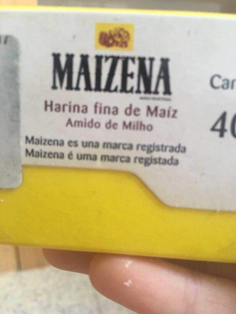 Harina fina de maíz - Ingredientes - es