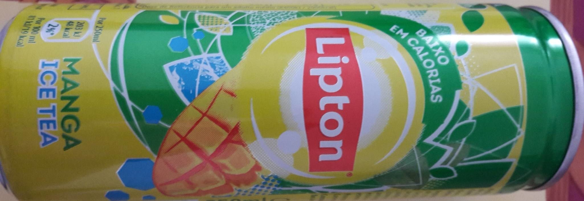 Lipton-ice Tea -mango-250ml-portugal - Nutrition facts - fr