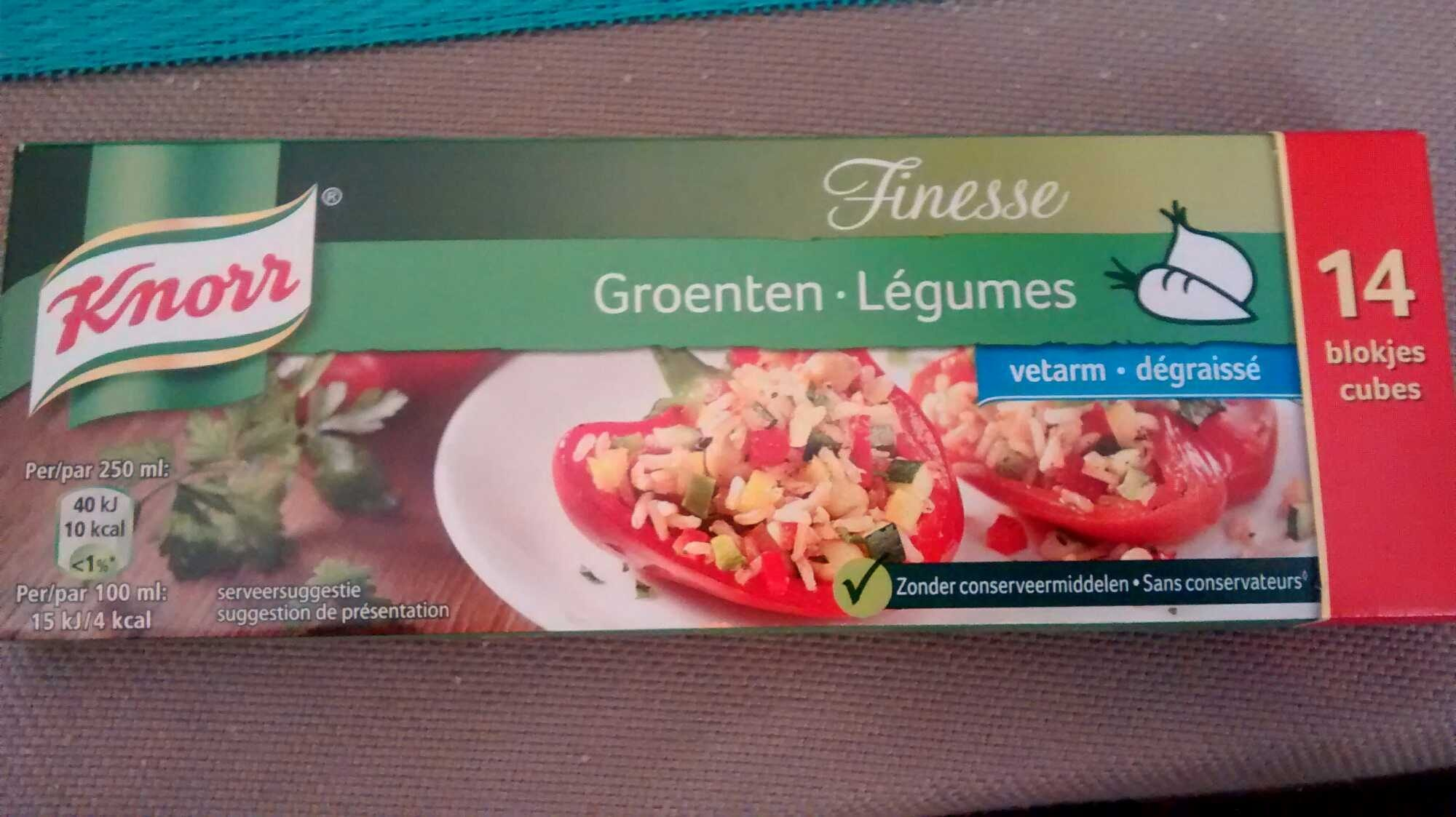 Finesse Groenten - Product - nl