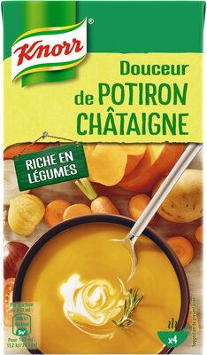 Knorr Soupe Liquide Douceur de Potiron Chataigne - Produit - fr