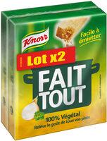Knorr Bouillon Fait Tout lot de 2 x 10 Cubes - Product - fr