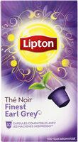 Lipton Thé Noir Finest Earl Grey 10 Capsules - Produit - fr