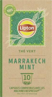 Lipton Thé Vert Marrakech Mint 10 Capsules - Produit - fr