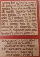 Black tea forest fruits - Ingredients - fr