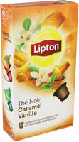 Lipton Thé Noir Caramel Vanille 10 Capsules - Product - fr