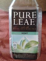 Pure Leaf Mint - Petfles 50 CL - Lipton - Product - fr