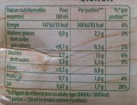 Knorr Soupe Velouté de Tomates 1l - Nutrition facts