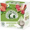 Elephant Infusion Fraise Framboise Rhubarbe 20 Sachets - Produit