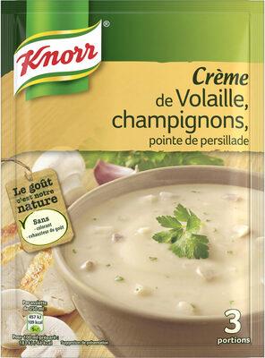 Knorr Soupe Crème de Volaille et Champignons 75g 3 Portions - Product - fr