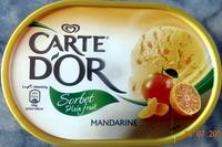Sorbet plein fruit, mandarine - Product - fr