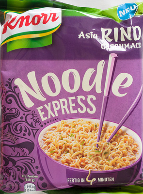 Noodle Express Asia Rind Geschmack - Produit