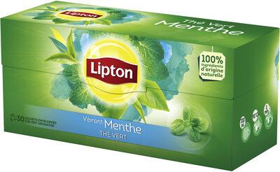 Lipton Thé Vert Menthe 30 Sachets - Producte