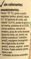 Knorr Puré Pot Puré De Patata Con Cebolla Y Bacon (4 Uds) - Ingrediënten