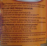 Calvé Pindakaas stukjes pinda 1000 gram - Ingrédients - fr
