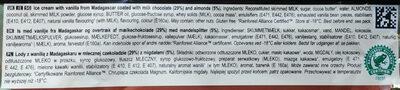 Gelato Magnum - Ingredients - en