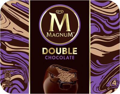 MAGNUM Glace Bâtonnet Double Chocolat 4x88ml - Product - fr
