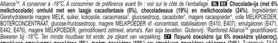 Magnum Glace Bâtonnet Double Chocolat x4 - Ingrediënten - nl
