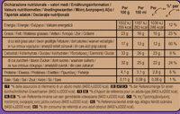 Magnum Glace Bâtonnet Double Chocolat x4 352ml - Nutrition facts - fr