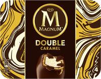 Magnum Glace Bâtonnet Double Caramel x4 - Produit - fr