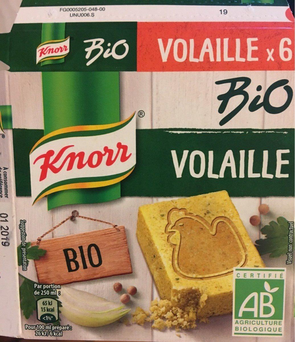 Bouillon Volaille Bio - Produit