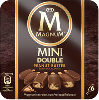 Magnum Glace Batonnet Mini Double Peanut Butter 6x60ml - Product - fr