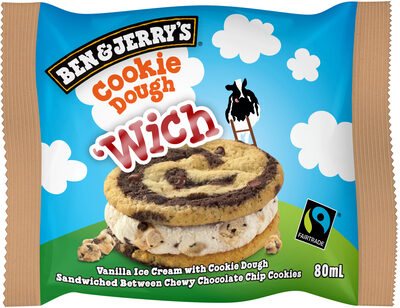 Ben & Jerry's Glace Pot Mini Wich Cookie Dough - Prodotto - fr