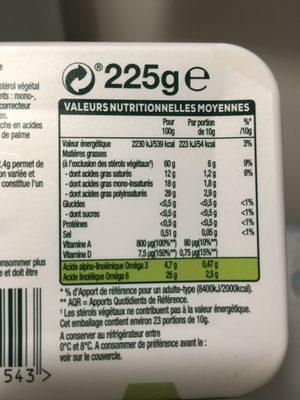 Fruit d'Or ProActiv EXPERT Cuisine - Ingredients