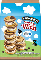Ben & Jerry's Glace Pot Mini Son of a Wich Cookie Dough - Prodotto - fr