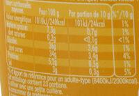 Maille Moutarde Au Miel Pot - Valori nutrizionali - fr