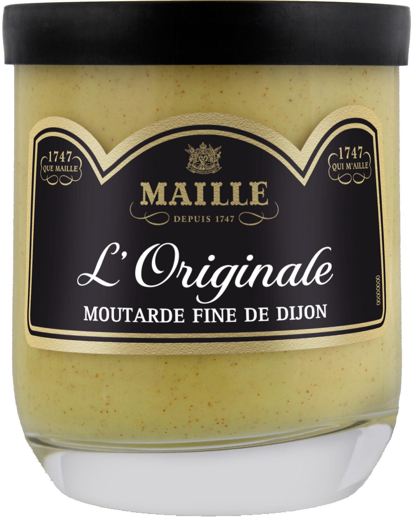 Maille Moutarde Fine De Dijon L'Originale Verrine 165g - Produit - fr