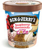 Ben & Jerry's Glace Pot Raspberry Cheesecake - Prodotto