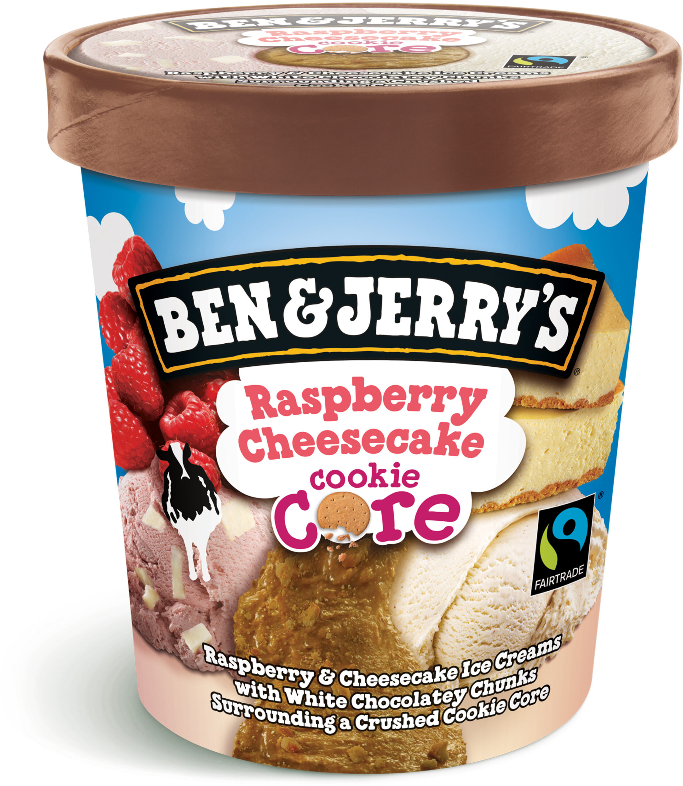Ben & Jerry's Glace Pot Raspberry Cheesecake - Prodotto - fr