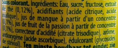 Lipton-ice Tea -tropical Fruit-330ml-belgium - Ingrédients
