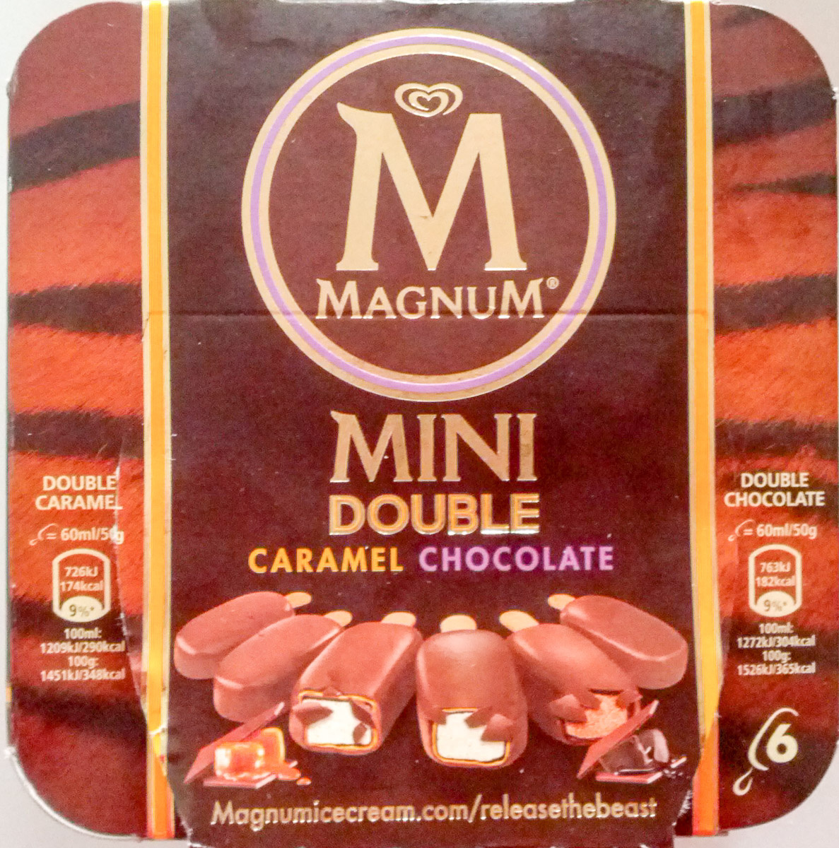 Mini Double Caramel Chocolate - Product - de