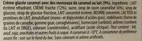 Les Authentiques Caramel aux Morceaux de Caramel Fleur de Sel - Ingredienti - fr