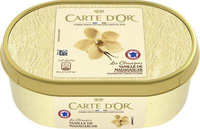 Carte D'or Les Authentiques Glace Vanille de Madagascar Bac - Prodotto - fr