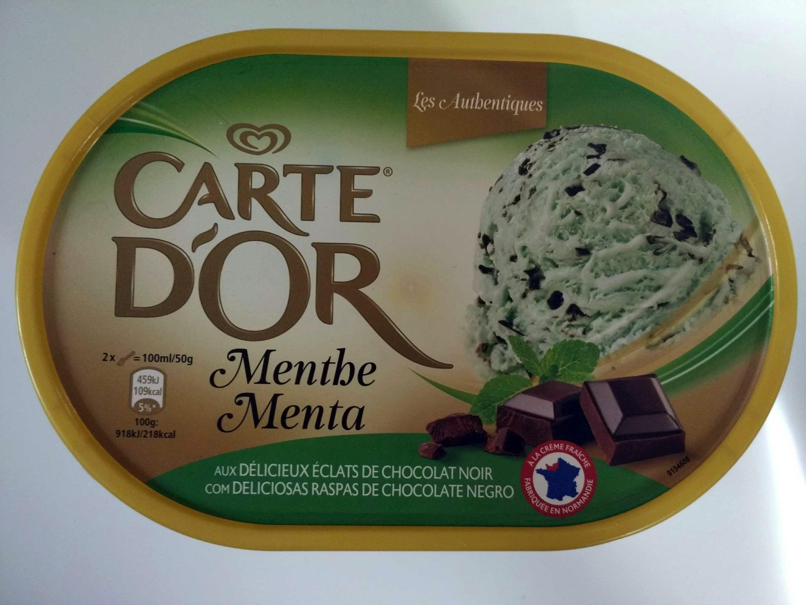 danger Les Authentiques - Menthe et Éclats de Chocolat Noir - Produit