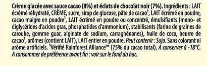 Carte D'or Les Authentiques Glace Stracciatella Bac 1L - Ingrédients - fr