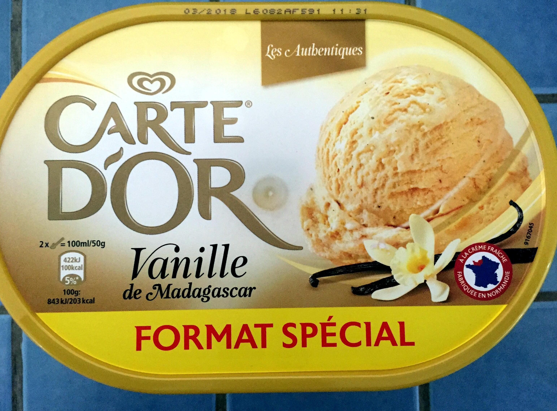 Glace à la vanille - Product - fr