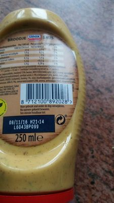 Broodje Saus - Product