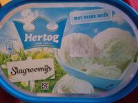 Hertog slagroomijs - Produit