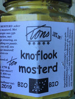 Knoflook mosterd - Produit - nl