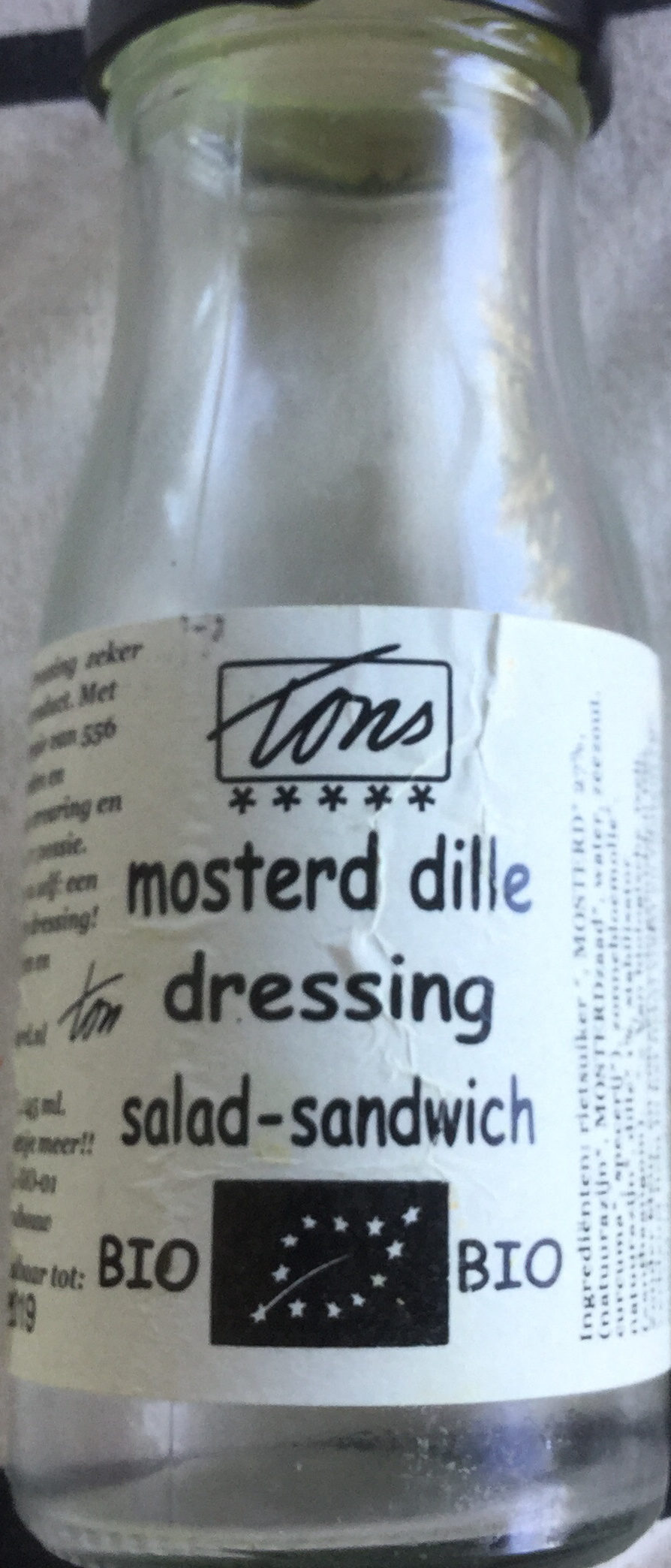 Mosterd dille dressing - Product