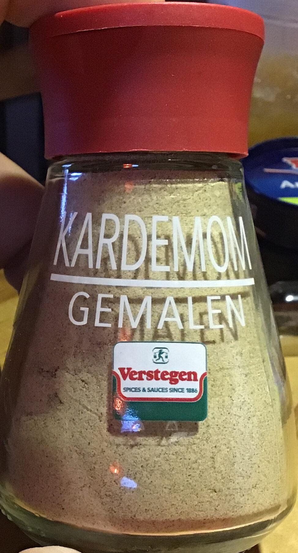 Verstegen Kardemom gemalen - Product - nl